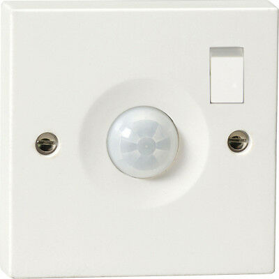 On/off & Pir Motion Sensor Wall Light Switch-1 Gang 1 Way 10A-Movement Automatic