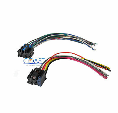 new factory radio stereo installation delco 16140051 wire wiringcar stereo wiring harness to factory radio for 2005 2010 chevy pontiac saturn