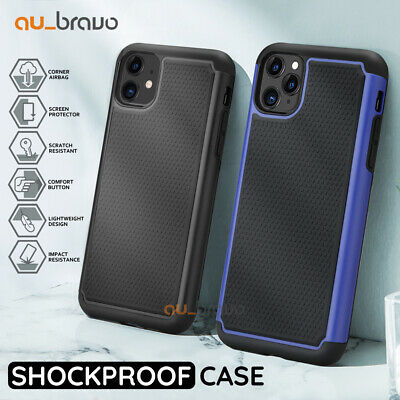 iPhone X XS 8 7 6S Plus Heavy Duty Shockproof Cover Case For Apple Drop Resist