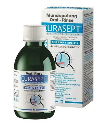CURASEPT ADS 212 Mouthwash - 200ml - 0.12% Chlorhexidine Oral Rinse