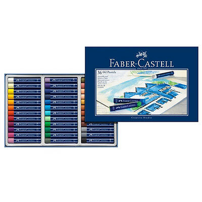 Faber Castell Creative Studio Oil Pastels 36 Colour Box Set. Assorted Colours.