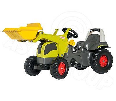 Rolly Toys - 025077 - Claas Elios - Ride On Tractor with Front Loader age 2 1/2+