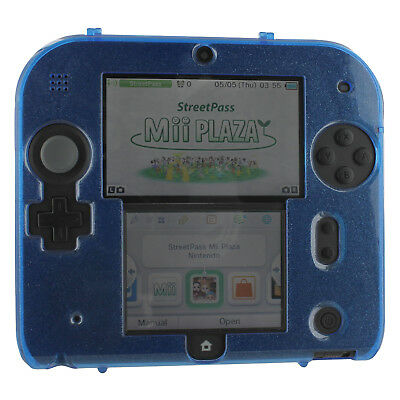 ZedLabz plastic hard case for Nintendo 2DS - polycarbonate cover shell - Blue