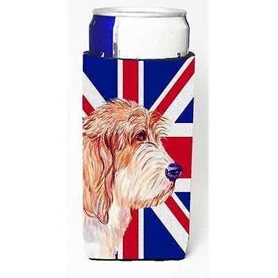 Petit Basset Griffon Vendeen Pbgv With English Union Jack British Flag Michel...