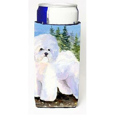 Carolines Treasures SS8916MUK Bichon Frise Michelob Ultra s For Slim Cans 12 oz.