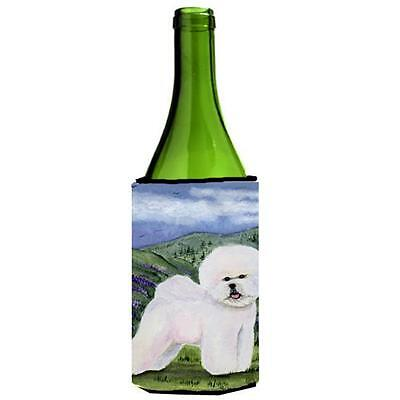 Carolines Treasures SS8025LITERK Bichon Frise Wine Bottle Hugger 24 oz.