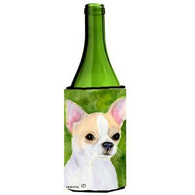 Carolines Treasures SS8786LITERK Chihuahua Wine bottle sleeve Hugger 24 Oz.