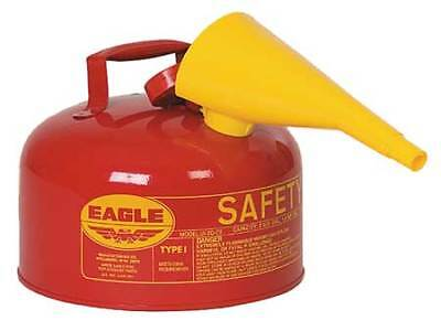 EAGLE UI-20-FS Type I Safety Can, 2 gal, Red