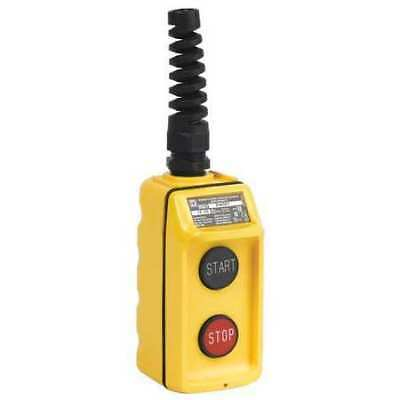 SQUARE D 9001BW95Y NO/NC Yellow Pendant Control Station