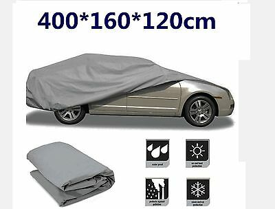 New Full Small Family Car Cover Waterproof Indoor Outdoor UV Protection BY