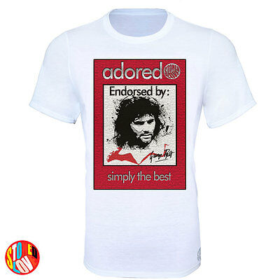 George Best Football legend Adored  Stoned Love T-Shirt