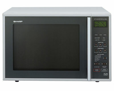 Sharp R959SLMAA 40L Combination Microwave  Silver And black Oven