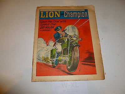 LION & CHAMPION Comic (1967) - Date 25/11/1967 - UK Paper Comic