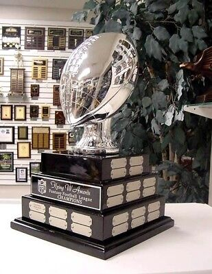 3 Tier Large Fantasy Football Ffl Perpetual Award 38 Years Top Of The Line Super
