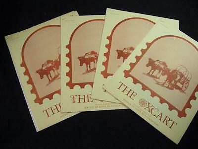 4 Issues Of The Oxcart - Quarterly Publication Of Costa Rica Collectors - 1983/4