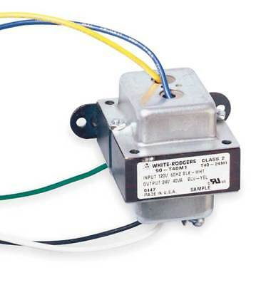 WHITE-RODGERS 90-T40M1 Class 2 Transformer, 24VAC, 40 VA, 1 PH