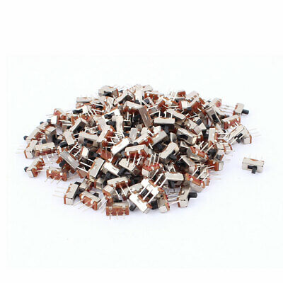 200Pcs 2 Position On/Off SPDT 3 Terminal PCB Panel Mini Vertical Slide Switch