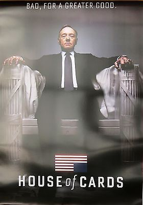 House Of Cards-For Greater Good- Laminated Poster-90cm x 60cm-Brand New