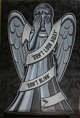 Doctor Who Weeping Angel - Laminated Poster-90cm x 60cm-Brand New