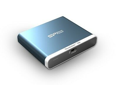 240GB Silicon Power T11 External SSD for Mac Thunderbolt Interface