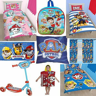 PAW PATROL ACCESSORIES - Choose One Or More - BEDDING QUILT KIDS BOYS GIRLS GIFT
