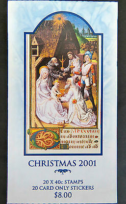Australian Stamps: 2001 - Christmas Booklet