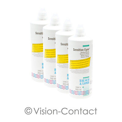 Bausch + Lomb - 4x Sensitive Eyes - 355ml