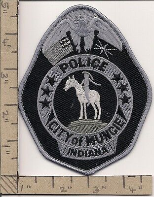 Muncie City Police. Indiana.