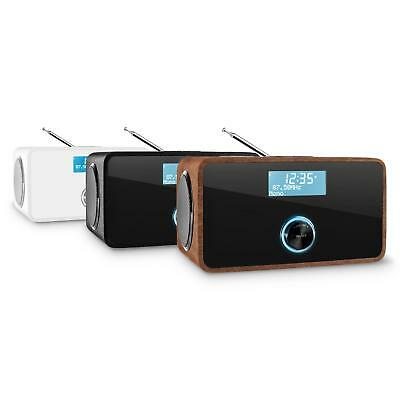 Digital Dab+ Radio Fm Sound Audio Ukw Lautsprecher Wecker Rds Aux Bluetooth