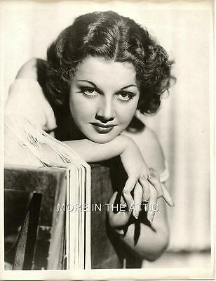 Adorable Ann Sheridan Hollywood Glamour Portrait #4