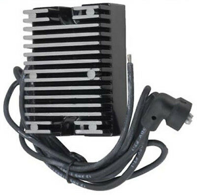 New Voltage Regulator Rectifier For Harley Davidson Replaces 74519-88 Black