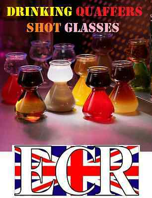 4 Pack Of Quaffer Cup Shot Glass Jagerbomb Jager Slammer Bomb Party Time Drink