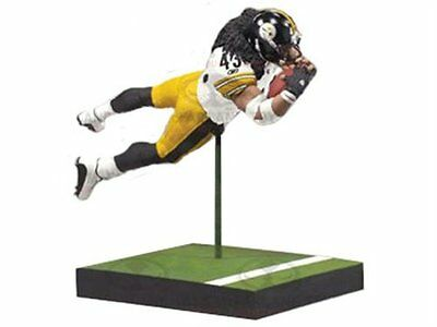 NFL 25 Troy Polamalu 6in Action Figure white jersey variant McFarlane Toys