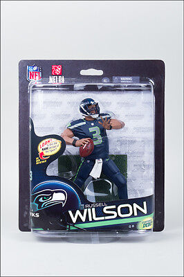 NFL Series 33 Russell Wilson Seattle Seahawks Action Figure McFarlane Toys