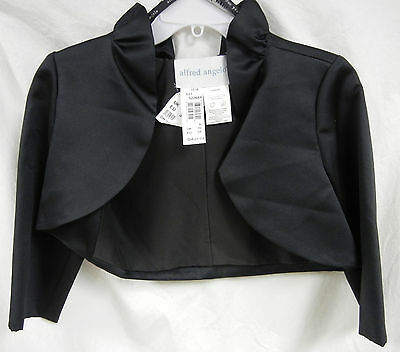 Alfred Angelo 7218 Stand-Up Ruffle Collar Special Occasion Jacket
