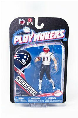 NFL Playmaker Series 4 Rob Gronkowski Patriots 4in Action Figure McFarlane Toys