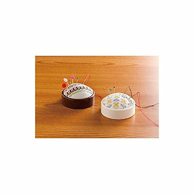Clover Create-A-Pincushion Kit Brown or Ivory SELECT YOUR COLOR!