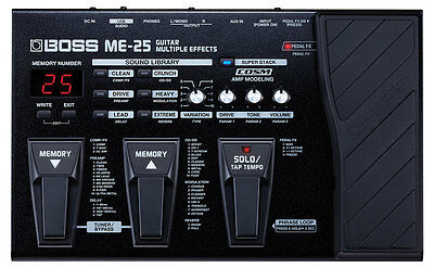 BRAND NEW Boss ME 25 ME25 Guitar Multi Effects Pedal FULL WARRANTY