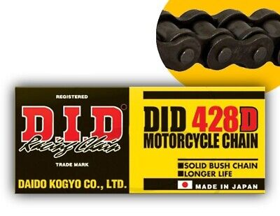 DID Drive shaft Chain 428 D 150 Links Clip Black