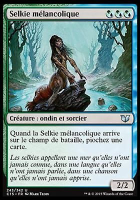 Cold-eyed Selkie *CARTAPAPA* MAGIC MTG COUCHECIEL Selkie aux Yeux Glaces