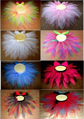 "Baby/Toddler Pretty as a Flower Tutu, Huge colour choice. Waist 15"" to 30"""