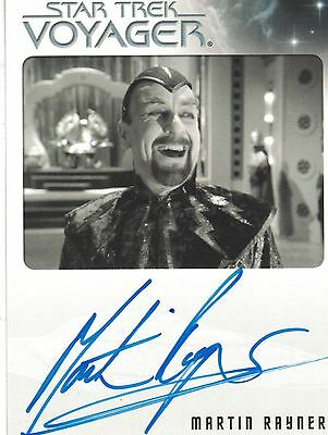 Star Trek Voyager Quotable (2012): Martin Rayner autograph