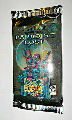 Mutant Chronicles DoomTrooper Paradise Lost booster Italian sealed NEW 1 busta