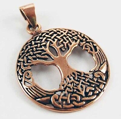 Bronze Medium Celtic Tree of Life Pendant ~Wicca~Reiki~Pagan Jewellery~Shaman
