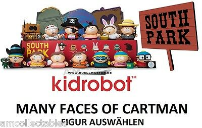 Kidrobot South Park - Many Faces Of Cartman - Figur Auswählen - Neu