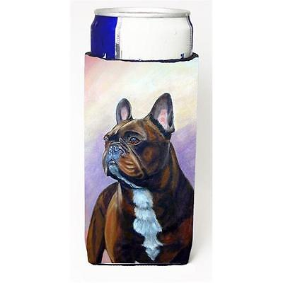 French Bulldog Michelob Ultra bottle sleeves For Slim Cans 12 oz.