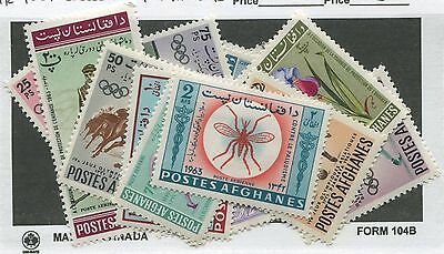 Afghanistan (Air Post) Mint & Used Collection Remainder