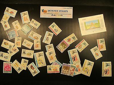 Ajman (Trucial State) Mint & Used Collection Remainder Scott Value $25.35