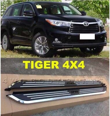 (#91) Toyota Kluger 2014 to 2017 Aluminium Side Steps Running Boards