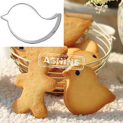 Bird Cookies Cutter Mould Cake Decorating Biscuit Jelly Pastry Baking Mold Gifts